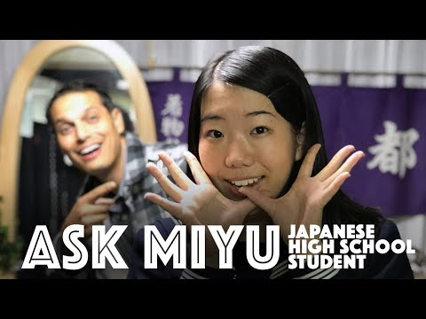 Ask Miyu, the Japanese High School Student