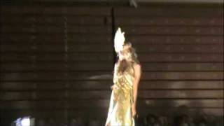 "Brittany Pasquelina on the runway ""Masquerade Fashion show"""