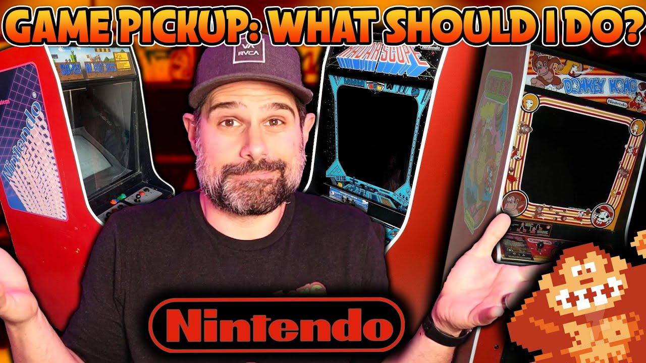 Nintendo Arcade Game Pickup - What should I do?!?
