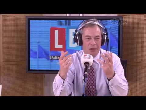 Nigel Farage Discusses Britain's Biggest Loser Tony Blair