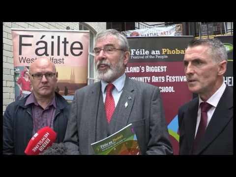 Irish government must join with Northern Executive to safeguard interests of Irish citizens - Adams