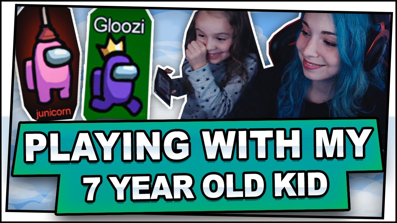 Playing Among Us With My 7 Year Old Kid Ft A Raging June Youtube