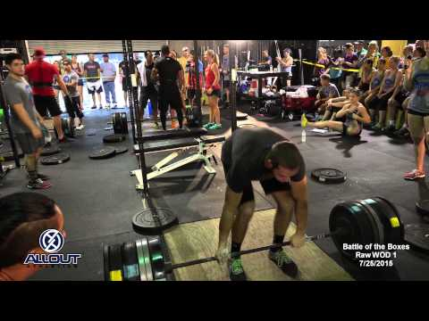 Battle of the Boxes 2015 | Raw | All Out Athletics