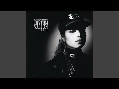 Rhythm Nation (1989) Janet Jackson [Vinyl Album]