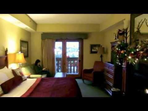 Rooms at the Christmas Place Inn