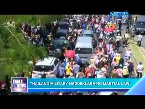 Thai military declares martial law
