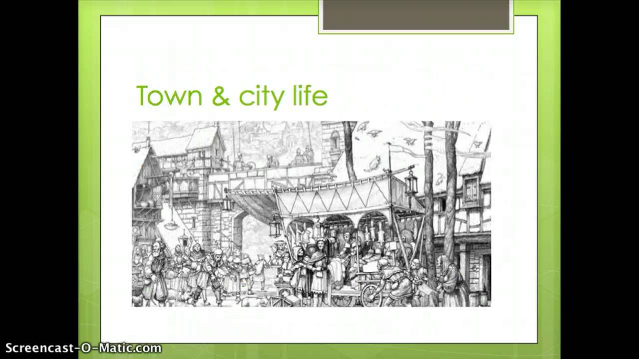 rise of towns in medieval europe How did the towns change medieval society european society became less isolated, towns and population and then on to the rise of a middle class from the.