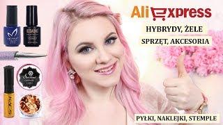 ❤ TOP Aliexpress Nails / Paznokcie - co warto kupić * promocje 11.11, haul, hity * Candymona