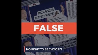 FALSE: Roque says poor have no right to be choosy over vaccine