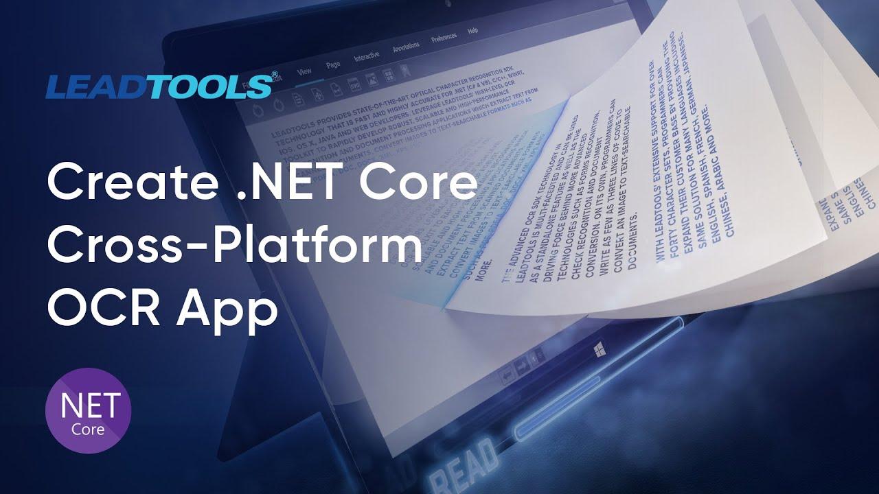 How to Create a  NET Core Cross-Platform OCR Application