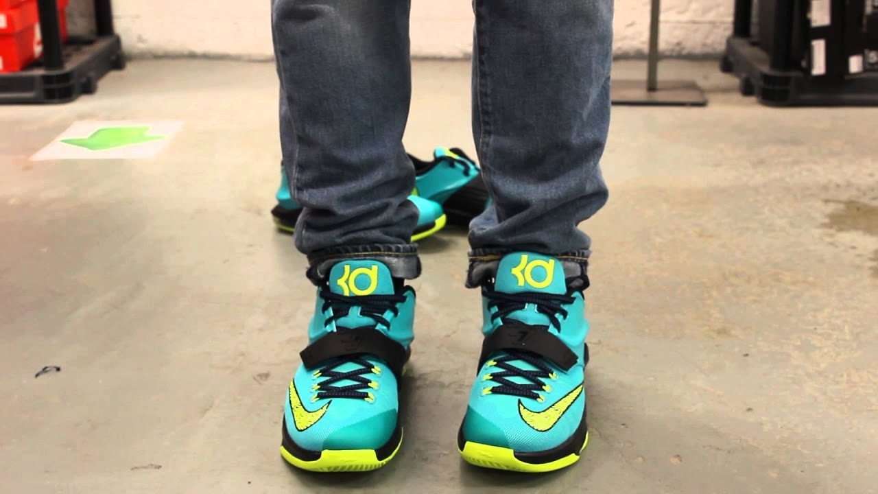 low cost 3d949 ef876 ... top quality kd vii uprising hyper jade on feet video at exclucity d94ff  15555