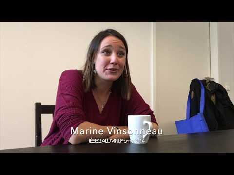 Meeting with Marine Vinsonneau in Berlin