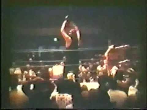 70s Wrestling Bad John/Gray vs Tojo/Jackie Fargo Memphis