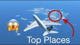 TOP 5 Places you HAVE to FLY in Infinite Flight