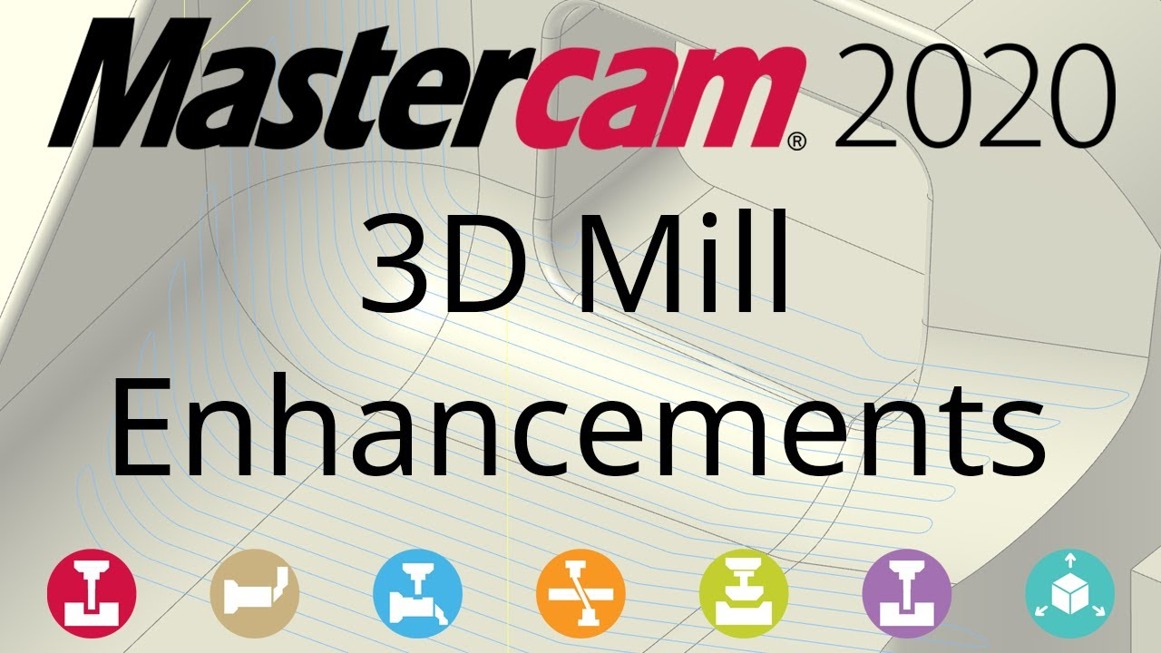 What's New in Mastercam 2020: 3D Mill