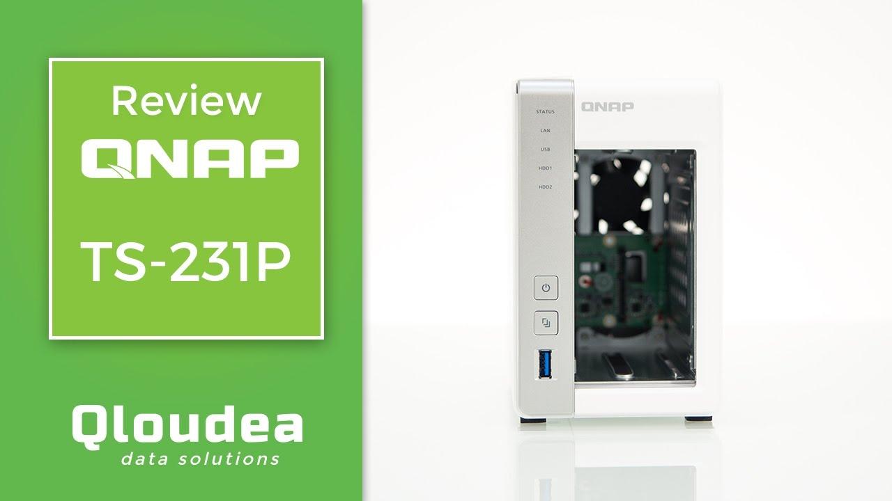 Review QNAP TS-231p - NAS 2 Bahías y 1GB de RAM