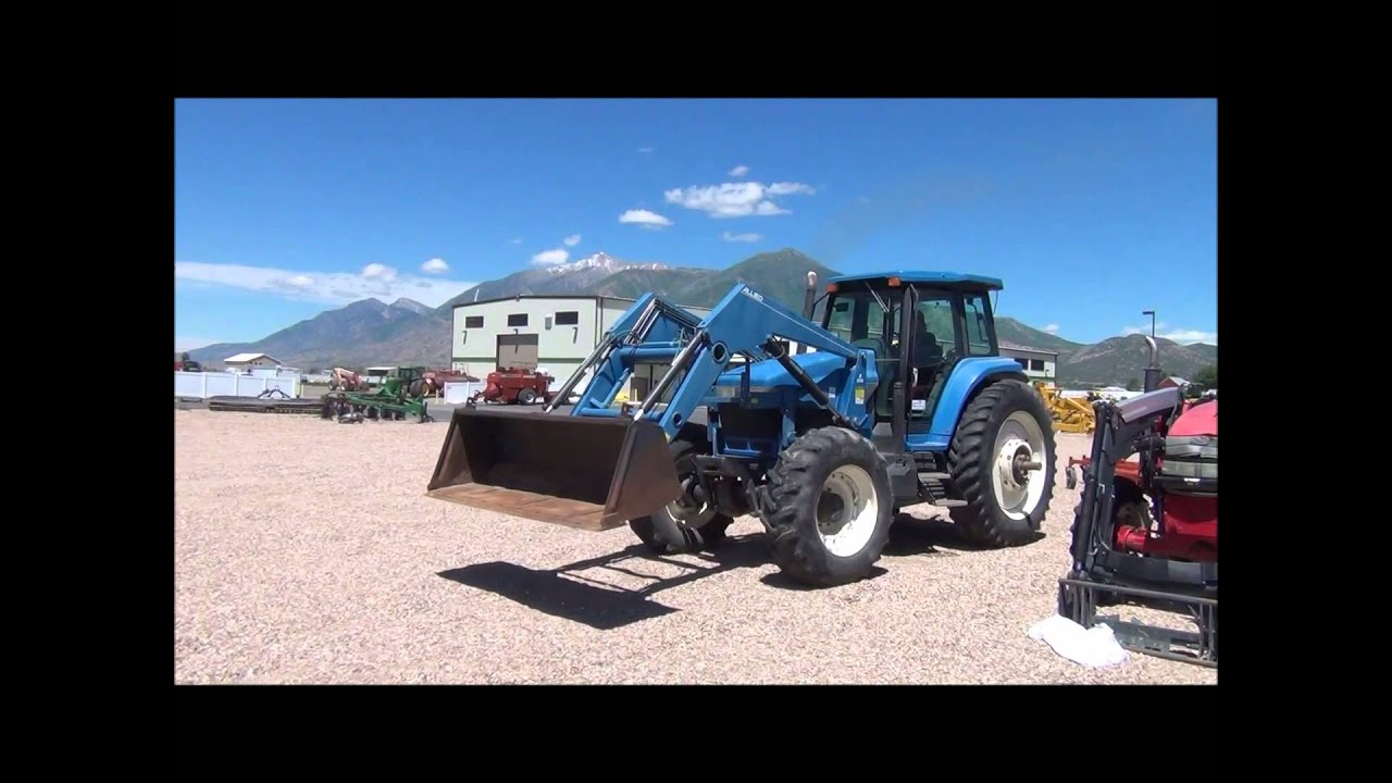 1994 ford 8670 mfwd tractor for sale sold at auction. Black Bedroom Furniture Sets. Home Design Ideas