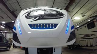 2018 Forest River Arctic Wolf 285DRL Three Slide Rear Living Room Fifth Wheel