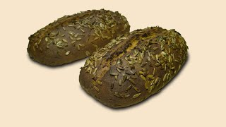 Дарницкий хлеб с семечками