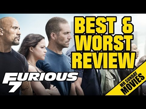 FURIOUS 7 Review - Best & Worst Of