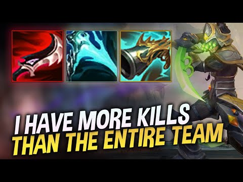 I HAVE MORE KILLS THAN THE ENTIRE REST OF THE TEAM... - COWSEP