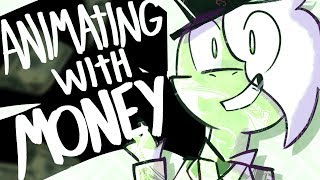 MONEY ANIMATION MEME - Animating With... (Пока Лена Проблем Meme w/ Yutaii)  💵