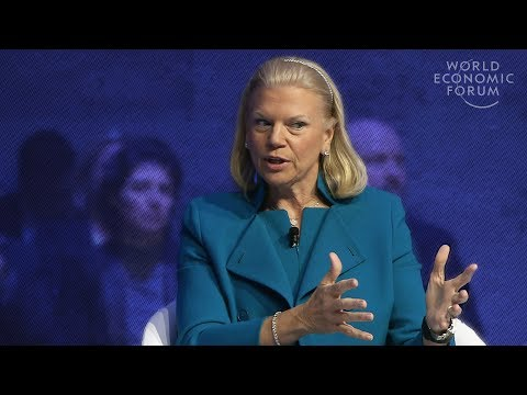 Ginni Rometty: It Should Be Augmented Intelligence, Not Artificial