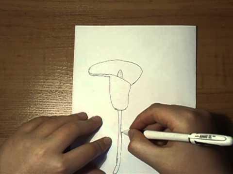 Урок рисования акварельными красками ♡ Туториал: Как нарисовать цветы | Katerina Rise