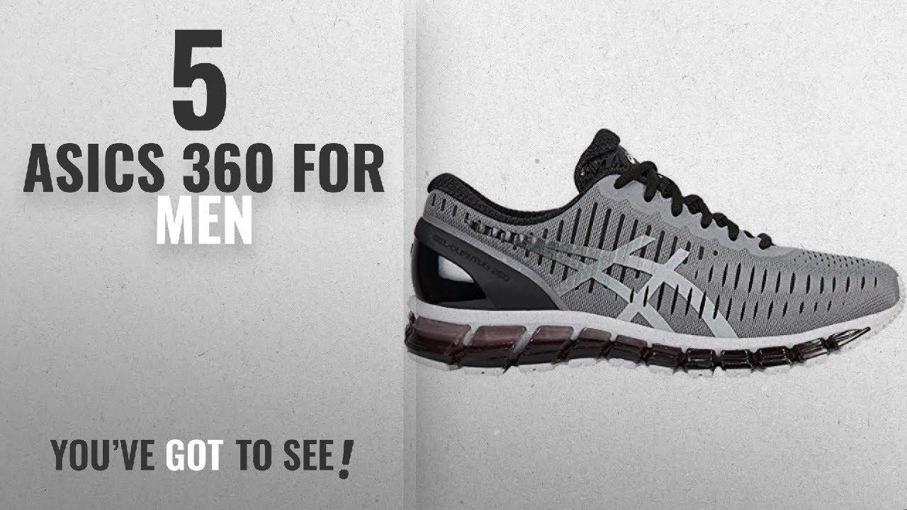 huge discount 21b13 f9e0f Top 10 Asics 360 [2018 ]: ASICS Men's Gel-Quantum 360 Running Shoes, Frost  Grey/High Rise/Black, 8.5