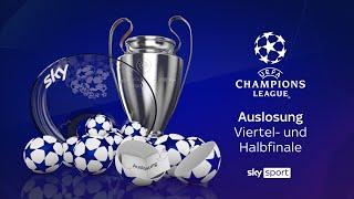 Auslosung der UEFA Champions League - Viertelfinale 2020/21 #UCL
