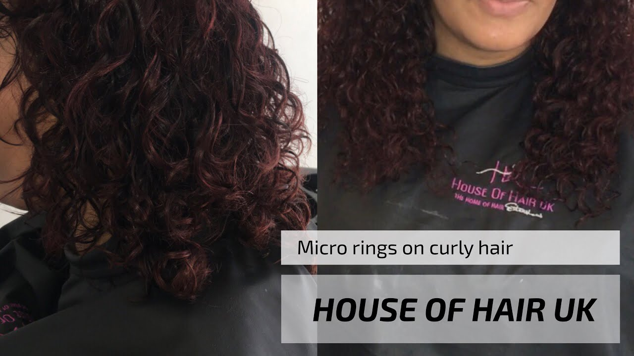 Micro extensions curly