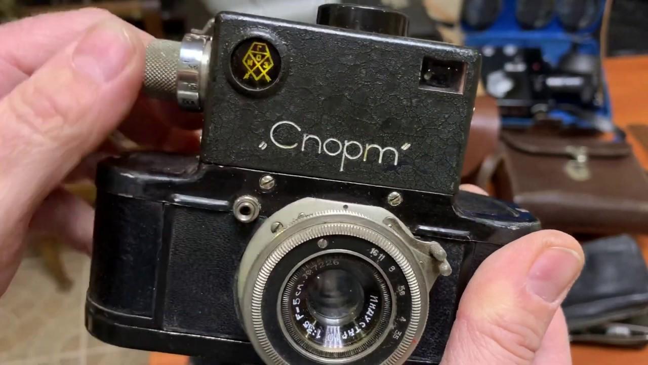 знает, что советский зеркальный фотоаппарат спорт премудростей лифтовке