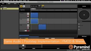 game audio   footstep implementation   fmod wwise