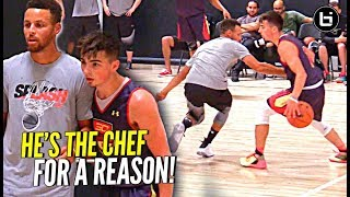Jordan McCabe CROSSES Steph Curry Then Scores On Him! Steph Says CHALLENGE ACCEPTED!
