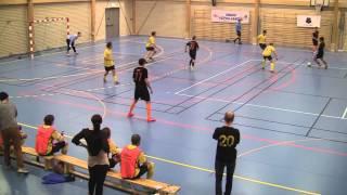 UFL 2012 1st round IKHF - Söder Futsal, 1st halv, 2 - 3