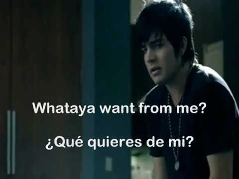 whataya want from me by adam lambert lyrics