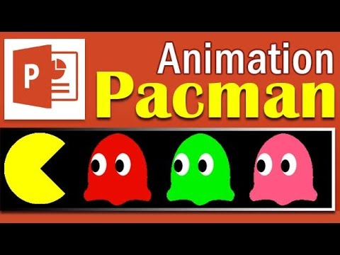 How to create pacman animation in powerpoint powerpoint toneelgroepblik Images