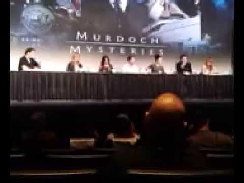 Murdoch Mysteries Panel - Fan Expo Canada 2014 - Part 2