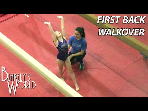 Blakely's First Back
