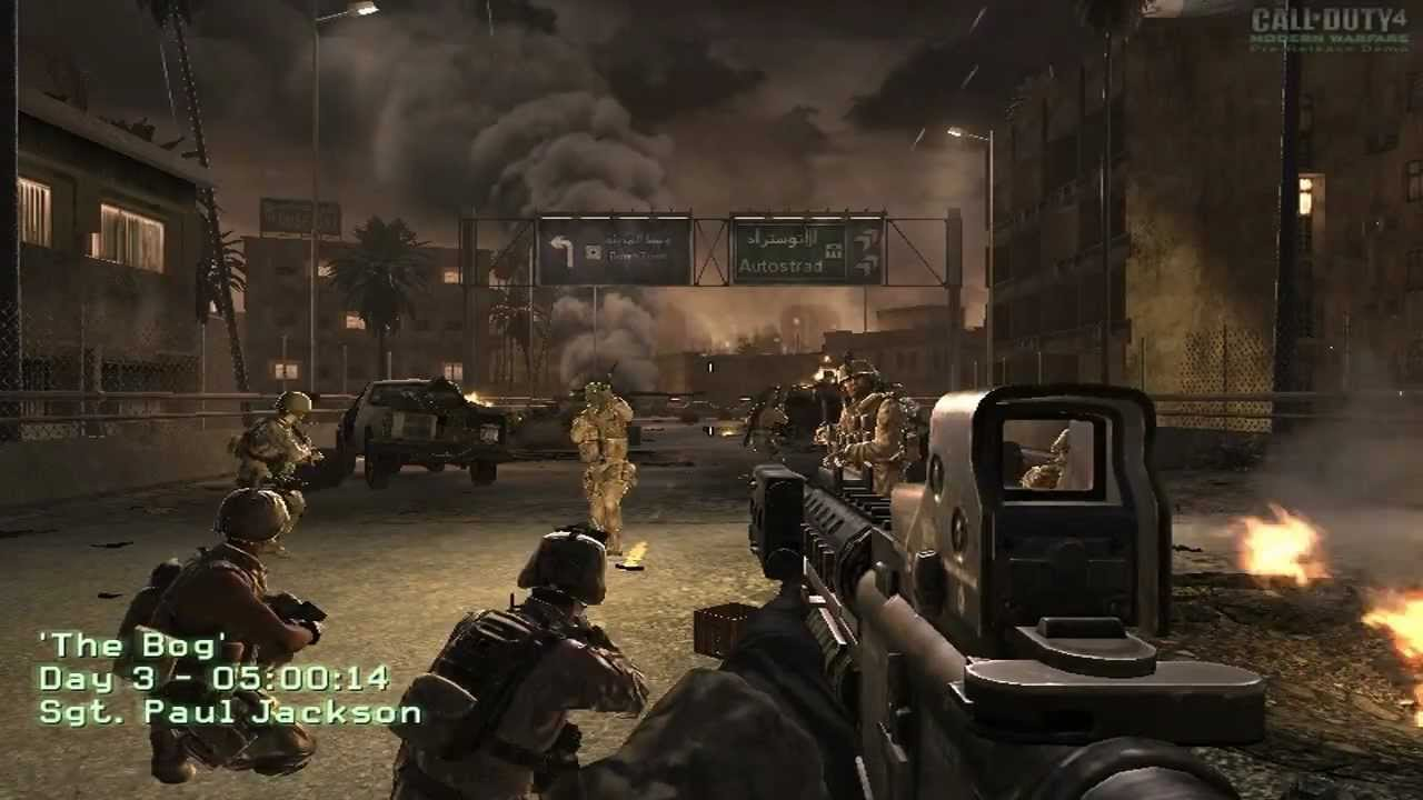 Call Of Duty 4 Demo