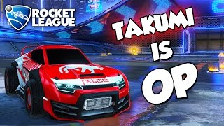 Takumi is OP | Rocket League Montage thumbnail