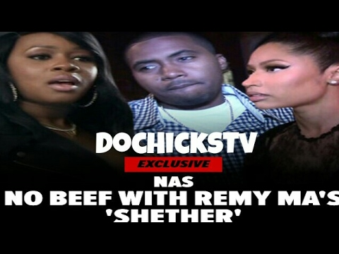 Nas Responds To Having Remy Ma's Shether Taking Down From ITunes & Soundcloud | DocHicksTv