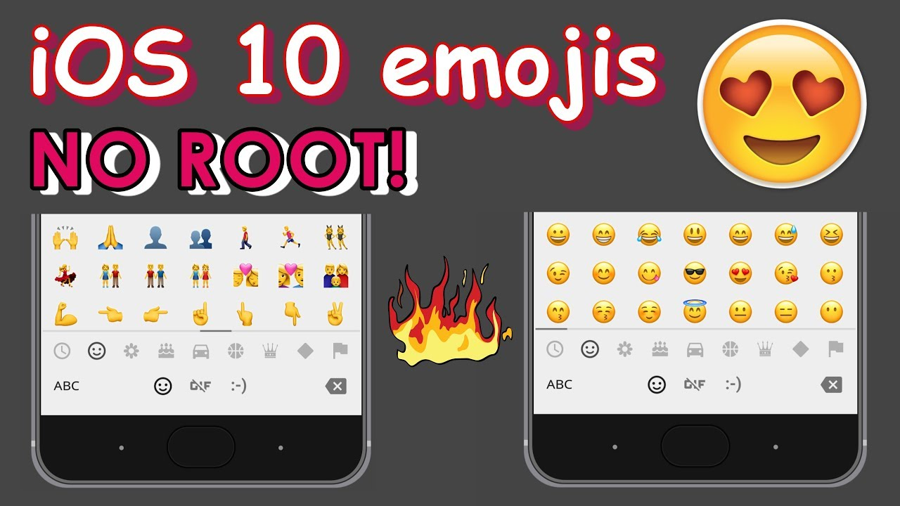 how to change emojis on android without root