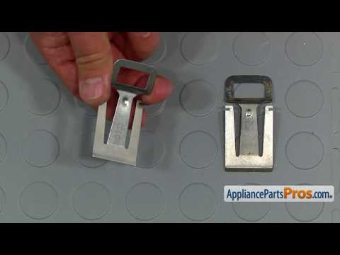 Dishwasher Door Latch Strike (Part #WP8580309) - How To Replace