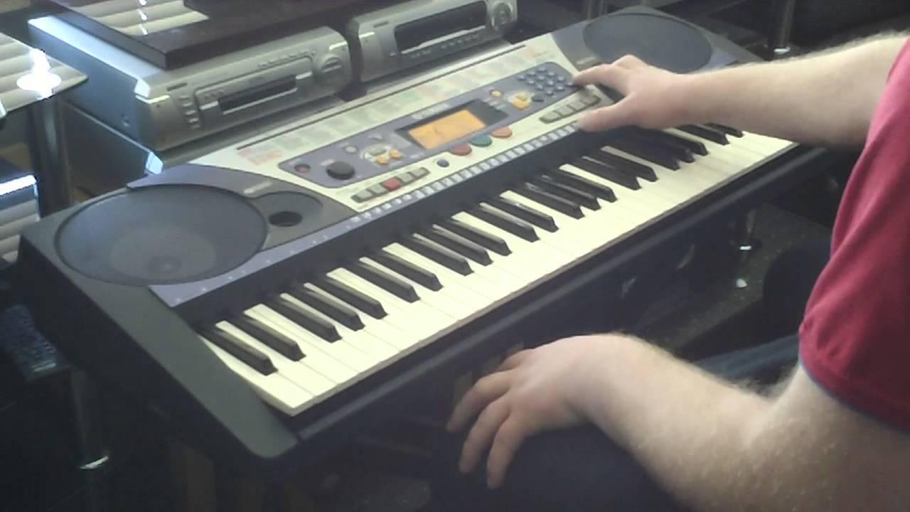 Yamaha psr 262 keyboard 100 accompaniment styles part 1 5 for How to repair yamaha keyboard