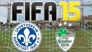 FIFA 15 # 08 ★ SV Darmstadt 98 vs. SpVgg Greuther Fürth (06.12.14) [ENDE / HD / 60fps]