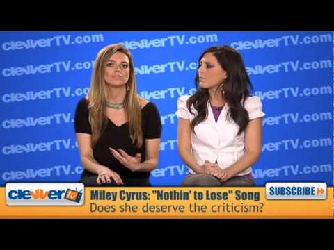 Girl Talk: Miley Cyrus and Bret Michaels 'Nothing To Lose' Controversy