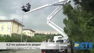 Piattaforma autocarrata Zed 20 2 HV - Articulated truck mounted aerial platform