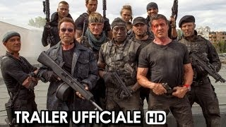 I Mercenari 3 - The Expendables 3 Trailer Ufficiale in lingua originale #1 (2014) Stallone HD