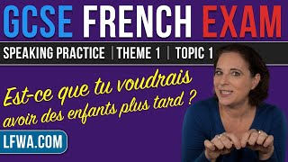 GCSE French Speaking: Would you like children later on?